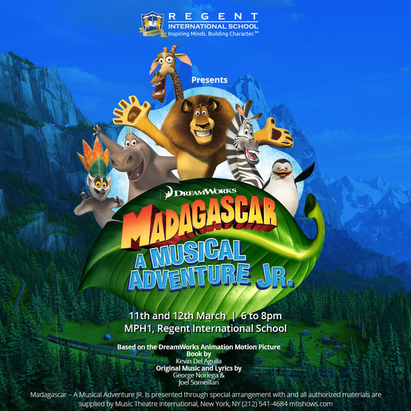 RIS STUDENTS ARE RUNNING WILD WITHDREAMWORKS MADAGASCAR – A MUSICAL ADVENTURE JR.