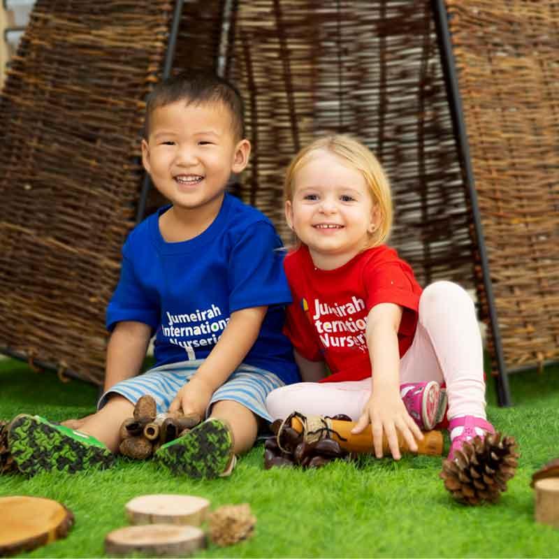 Jumeirah International Nurseries outdoor play area