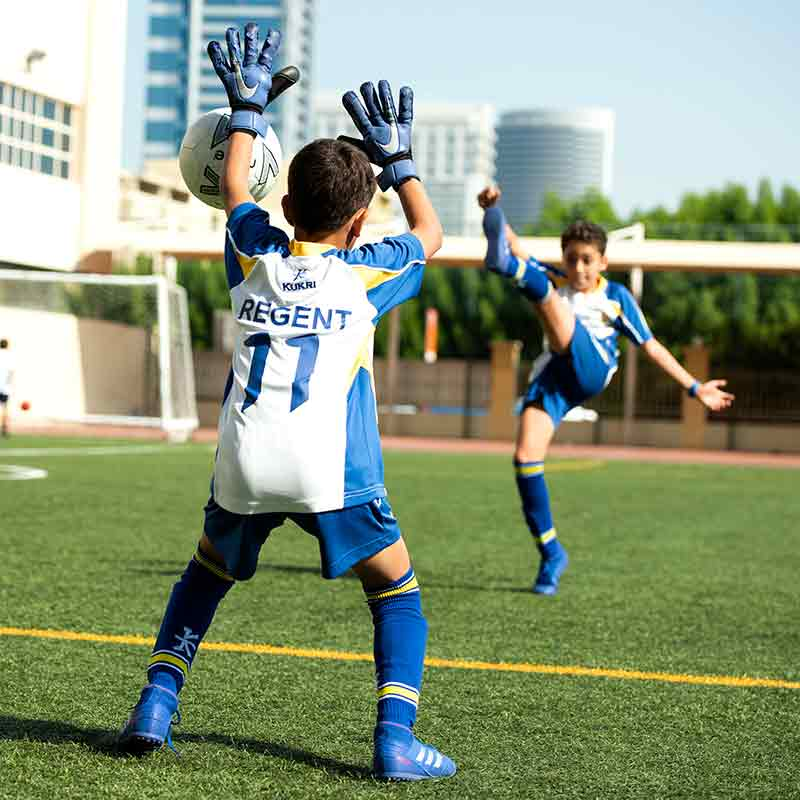 Regent International School Football Squad
