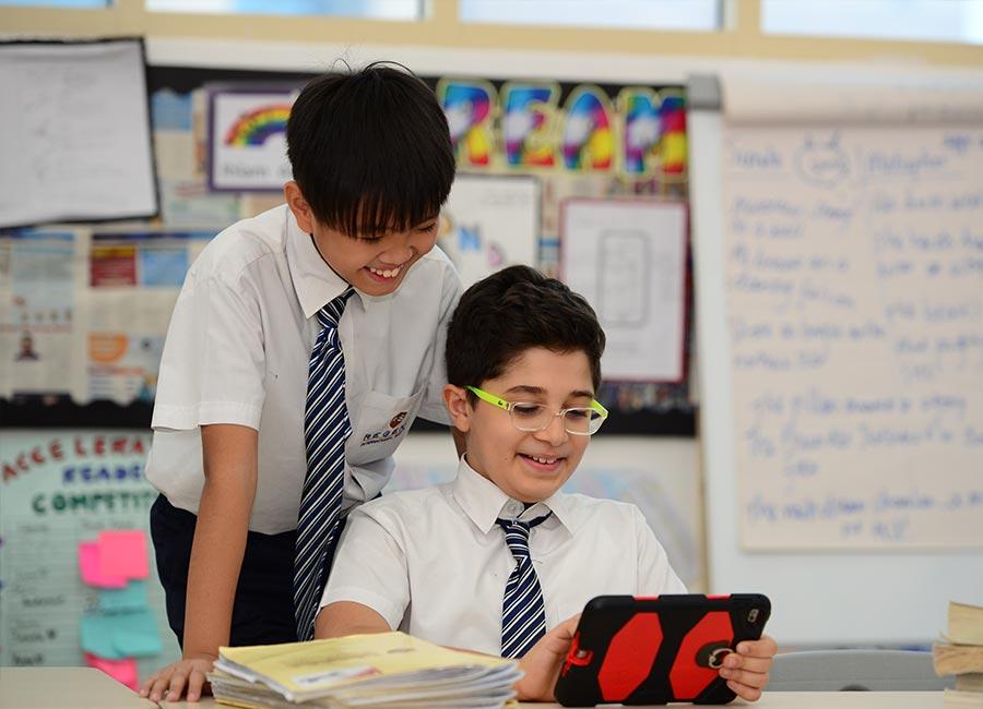 Regent International School tech learning